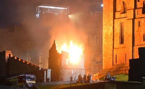 تیراندازی در قلعه بامبورگ