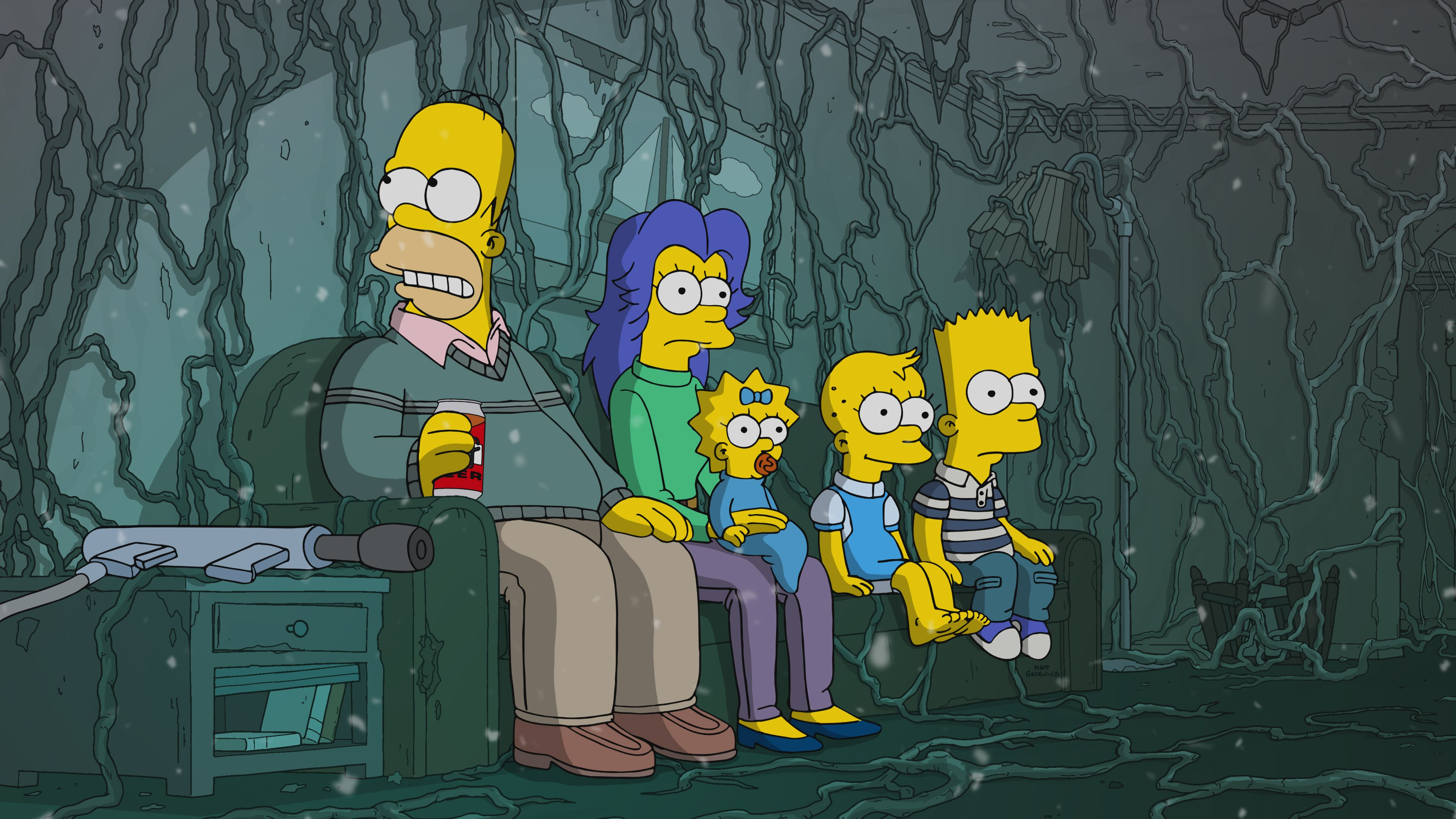 Stranger Things Parodied By Simpsons In New Treehouse Of Horror