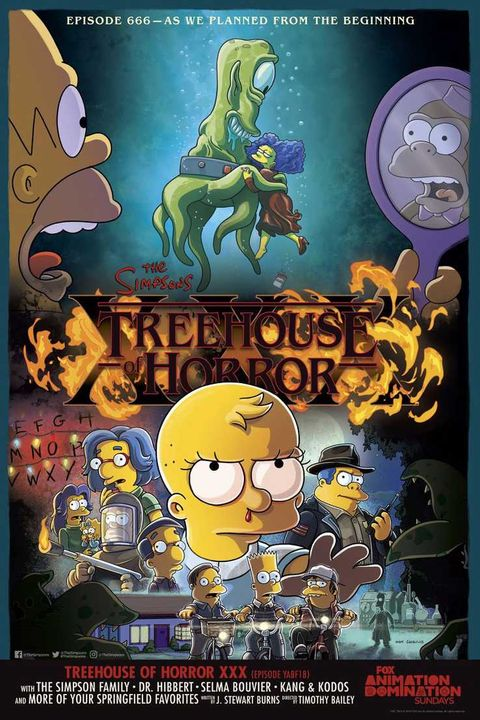 The Simpsons, Treehouse of Horror poster
