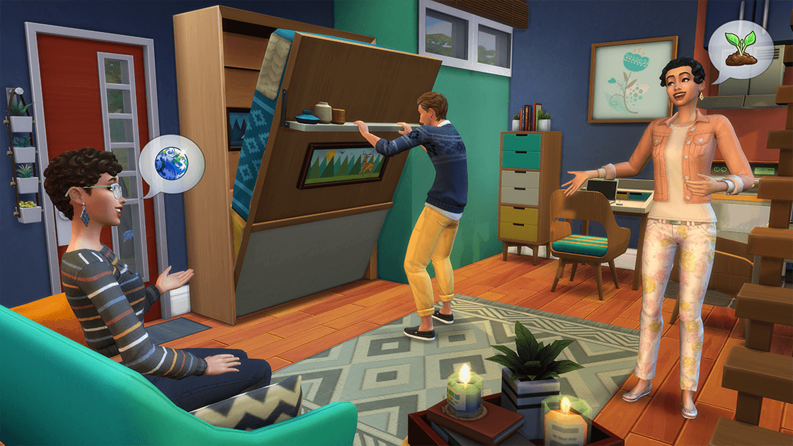 The Sims 4 explains why bunk beds aren't in Tiny Living Stuff Pack