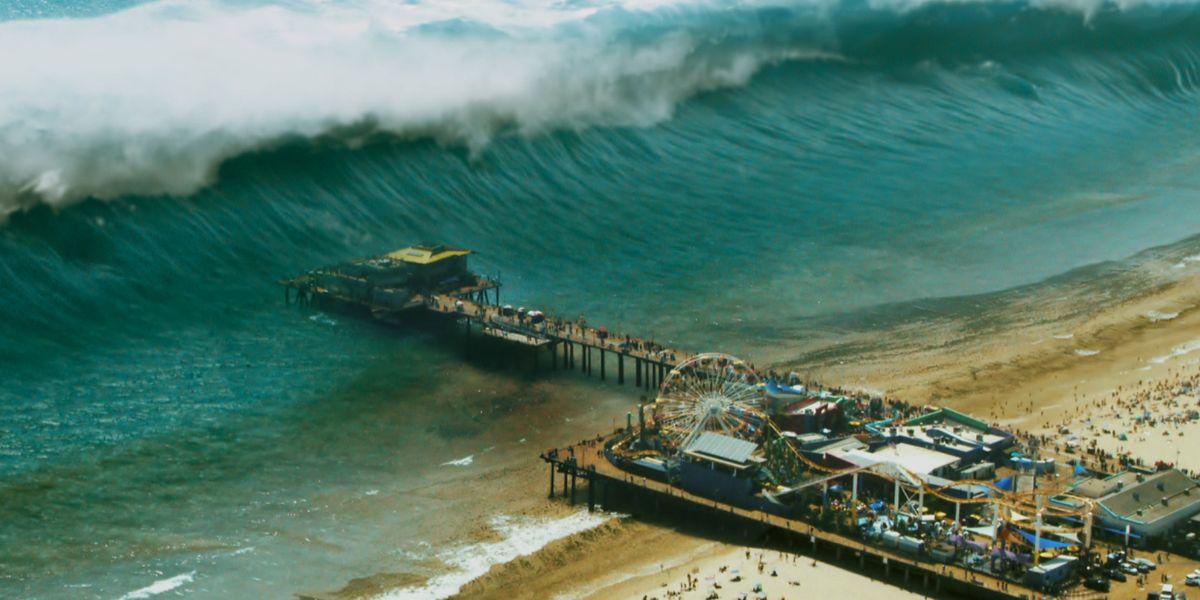 Here's How '9-1-1''s Tsunami Scenes Were Filmed