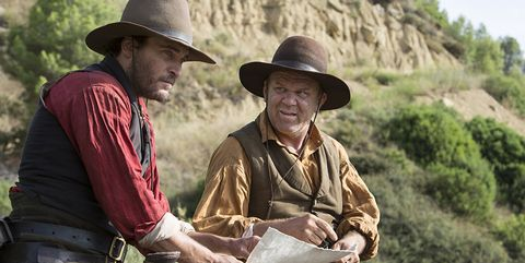 """The Sisters Brothers"", Joaquin Phoenix, John C. Reilly"