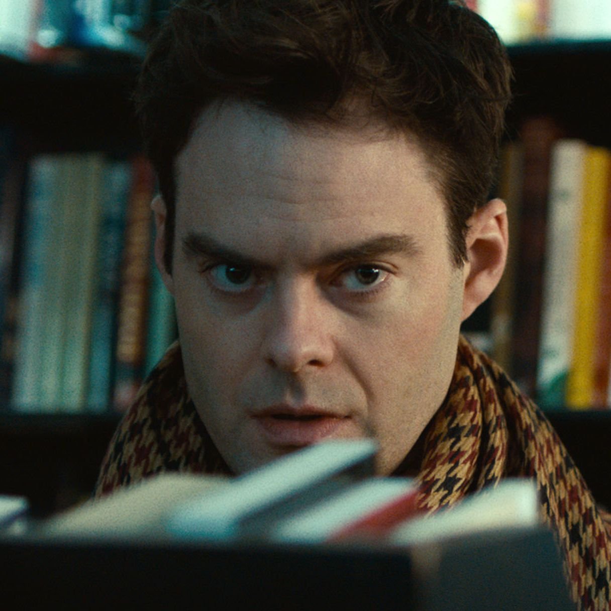 Hader in the 2014 film The Skeleton Twins , in which he appeared with fellow SNL alum Kristen Wiig.