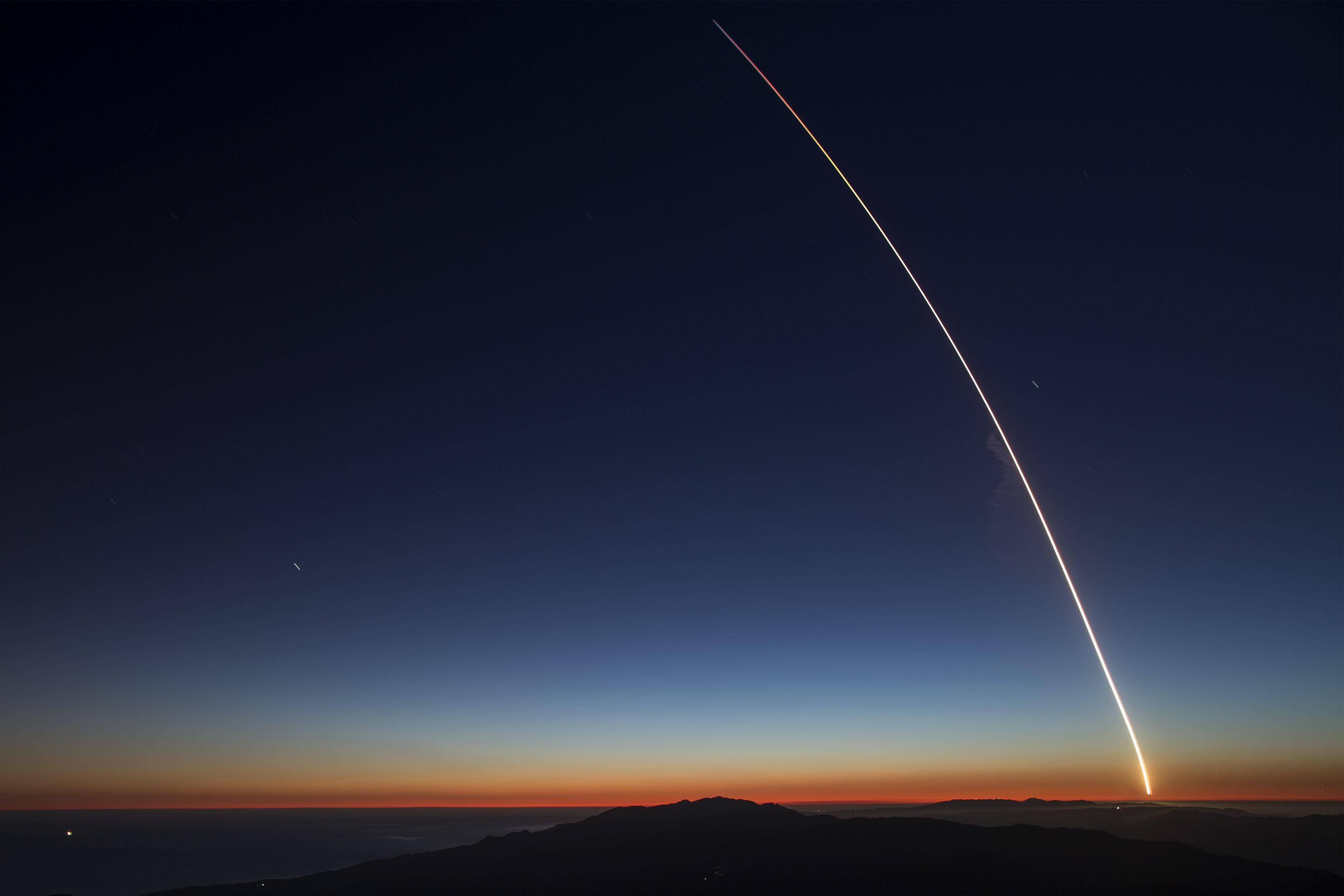 Falcon 9 First Landing West Coast 83