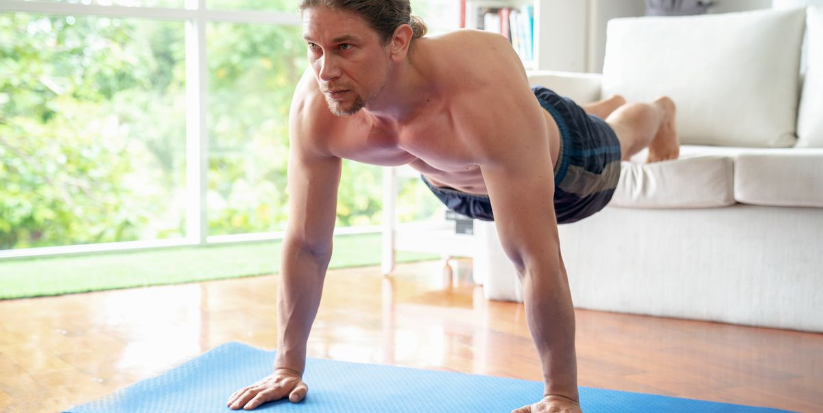 Try This Bodyweight Workout Using Only Your Couch