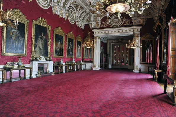 Inside the state dining room.