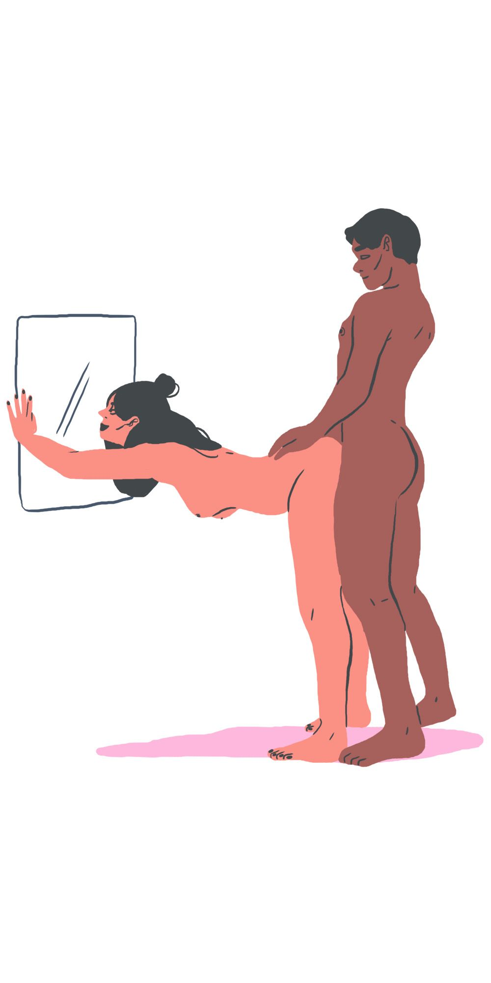 5 sex positions for people who like to watch