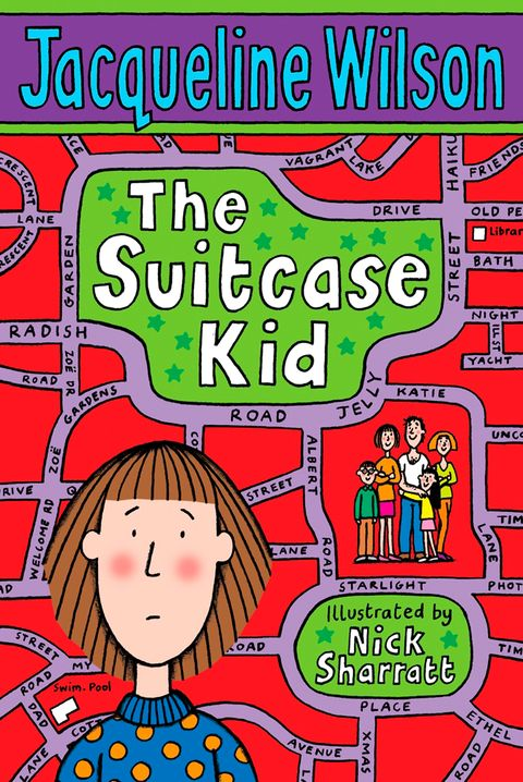 Book cover of 'the Suitcase Kid' by Jacqueline Wilson