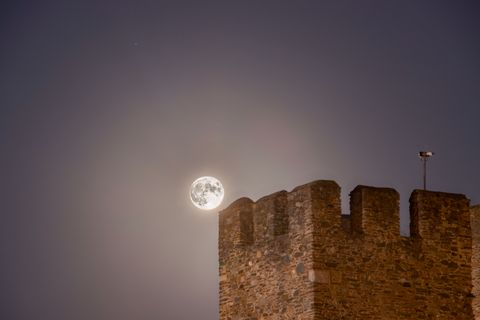 full moon from greece