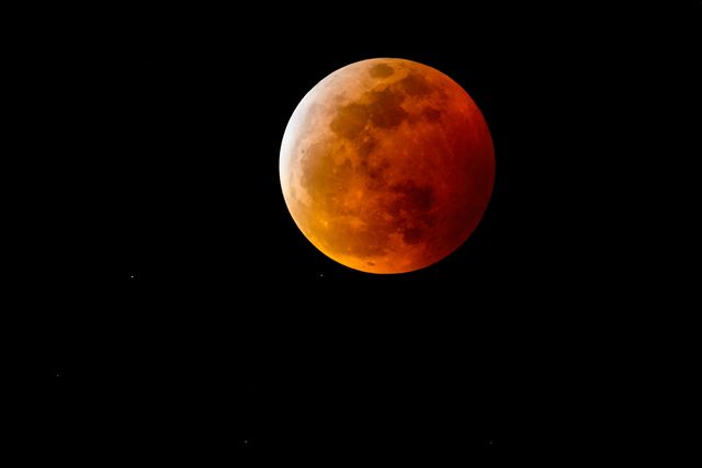 the super blood wolf moon and total lunar eclipse