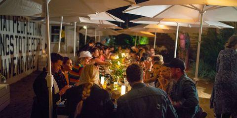 Crowd, Event, Night, Restaurant, City, Leisure, Cuisine,