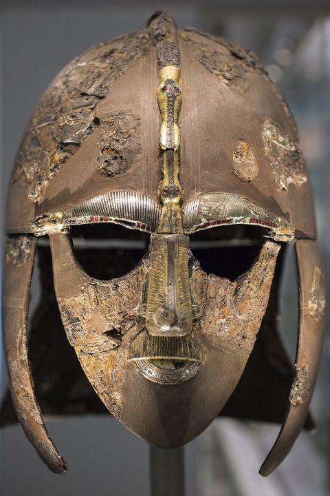 یک گنجینه شیطان هو که در موزه بریتانیا به نمایش گذاشته شده است