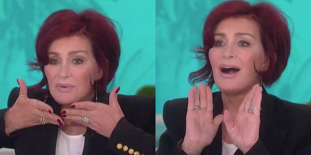 'The Talk' Fans Defend Sharon Osbourne After She Reveals Her New Facelift on the Season 10 Premiere