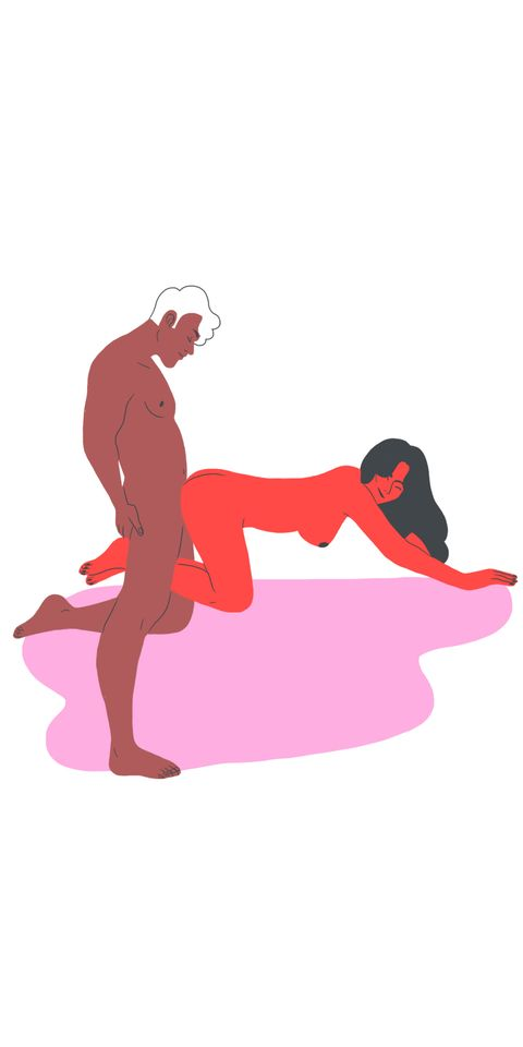 Kneeling, Lunge, Sitting, Silhouette, Illustration,