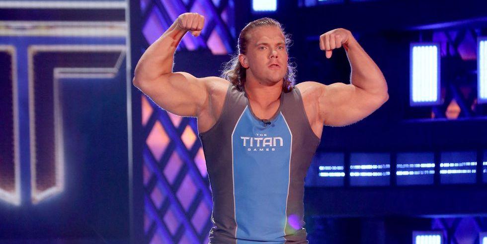 Exclusiva: conoce al doble de Schwarzenegger que compite en los The Titan Games