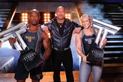 the titan games winners