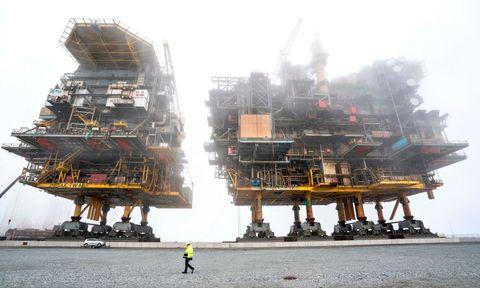 topshot denmark energy oil gas tyra platform