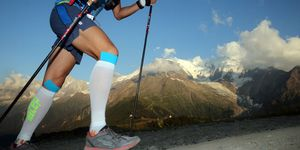 The Ultra-Trail Du Mont-Blanc. A  Single-Stage Mountain Ultra marathon In The Alps.