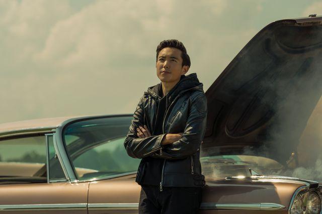 el personaje de the umbrella academy ben, interpretado por justin h min