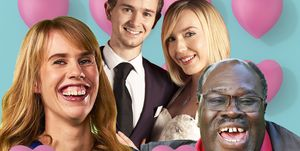 The Undateables, Emily, Ray, Daniel and Lily