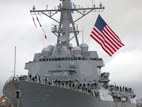 The U S  Navy Is Shrinking the Size of Its Gargantuan 70s