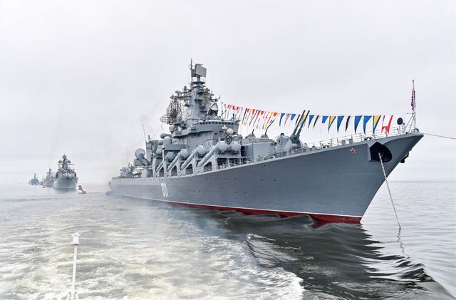 russian navy day celebrations