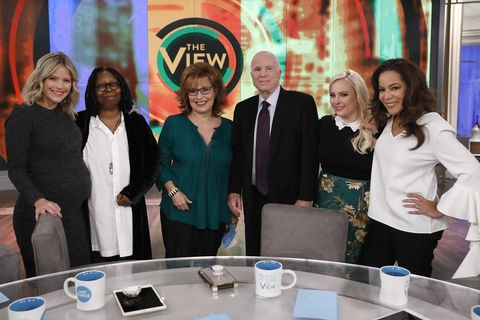 'The View' Co-Hosts Show Their Support for Meghan McCain With Touching Tributes of Her Dad