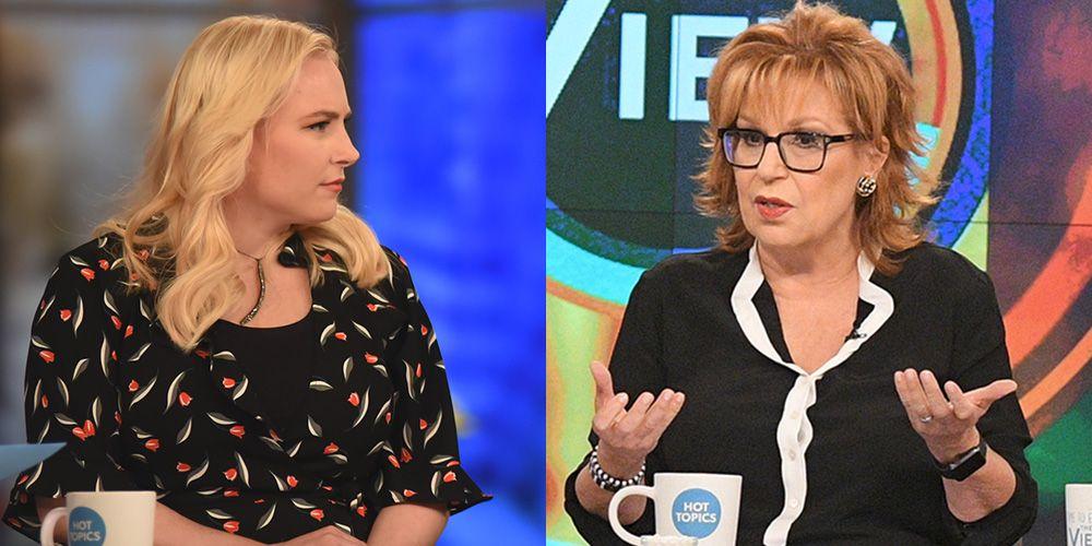 The View Host Whoopi Goldberg Had To Stop Meghan Mccain And Joy Behars Heated Debate