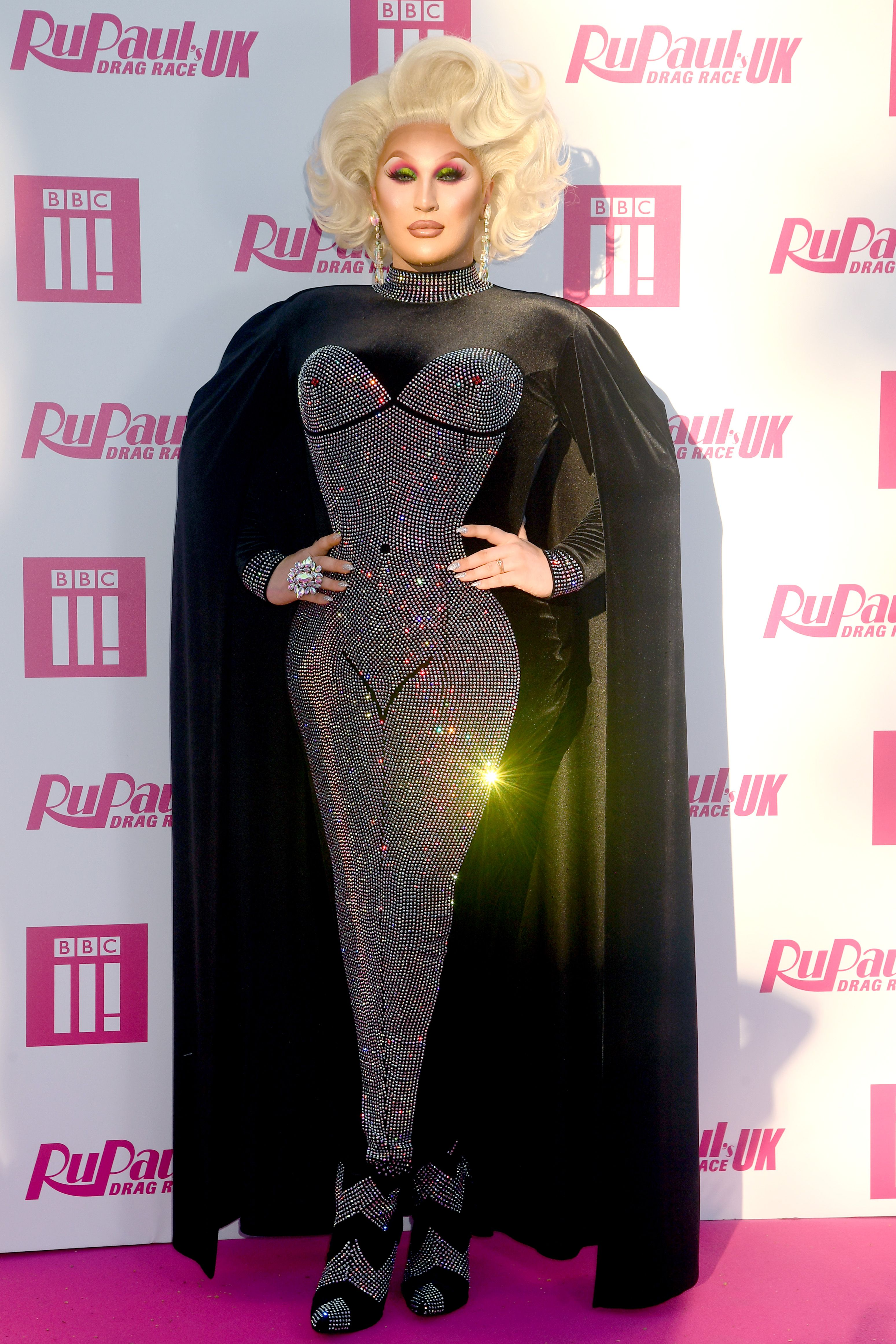 RuPaul's Drag Race UK star The Vivienne is happy with her 'villain' edit