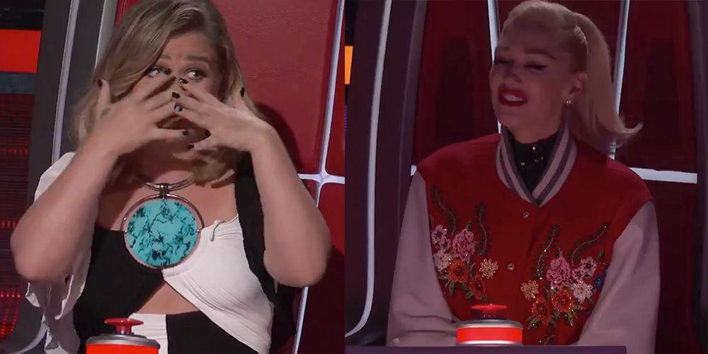 Келли Кларксон становится чрезвычайно эмоциональной во время нокаут-выступления 'Voice'