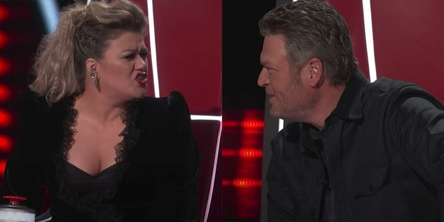 Blake Shelton Christmas Special 2021 Kelly Clarkson Reacts To Blake Shelton Saying She Didn T Have Time For The Voice Season 20