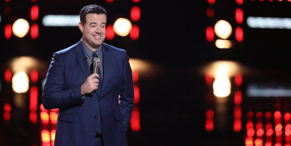 Carson Daly Accidentally Spilled Who His Favorite Coach Is on 'The Voice'