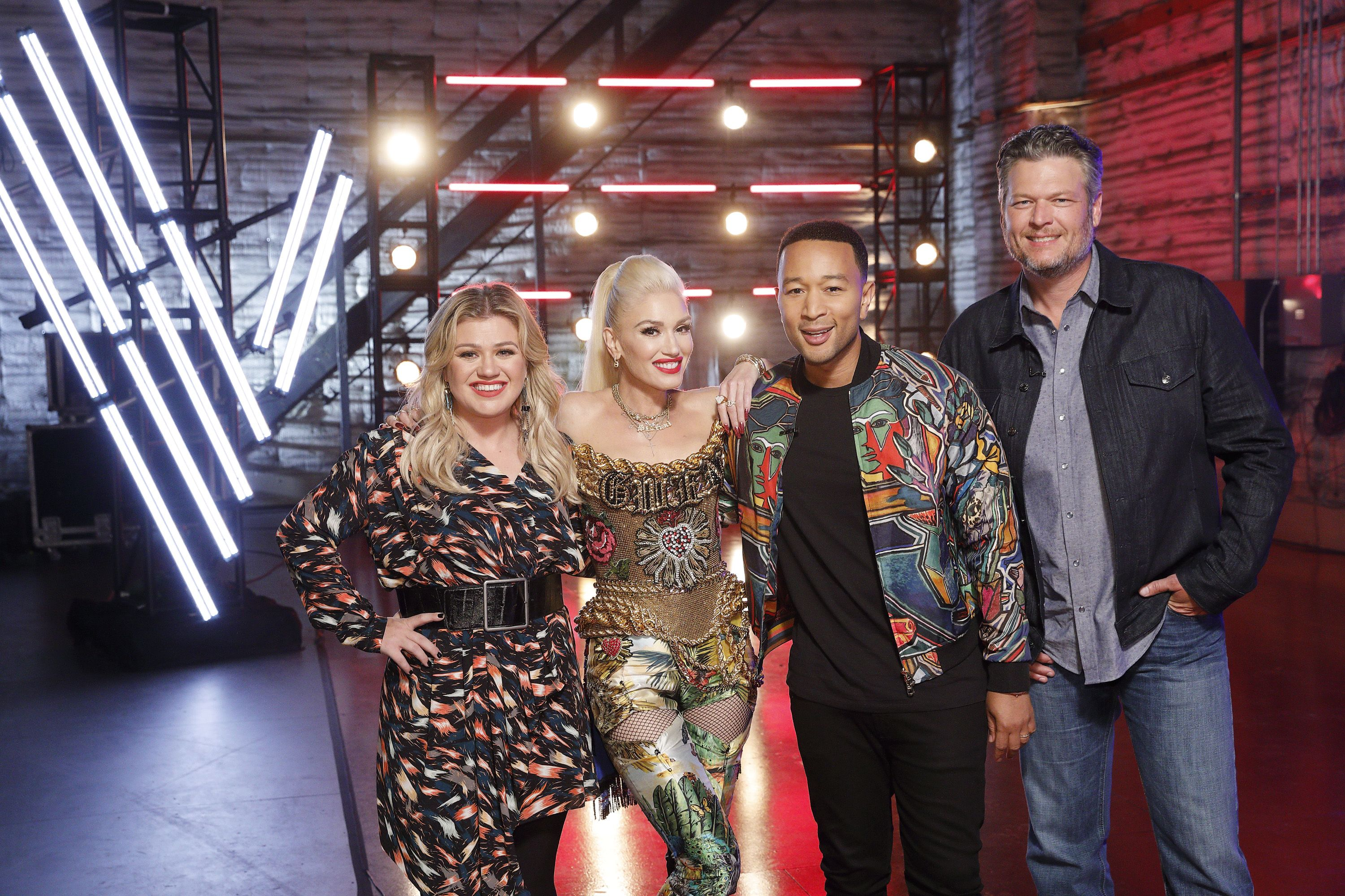 'The Voice' Coaches Gave a Rare Group Performance and It Will Give You Chills
