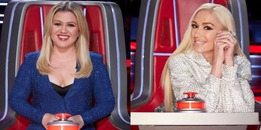 'The Voice' Fans Can't Stop Talking About Gwen Stefani and Kelly Clarkson's Outfits