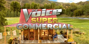 the voice super bowl commercial