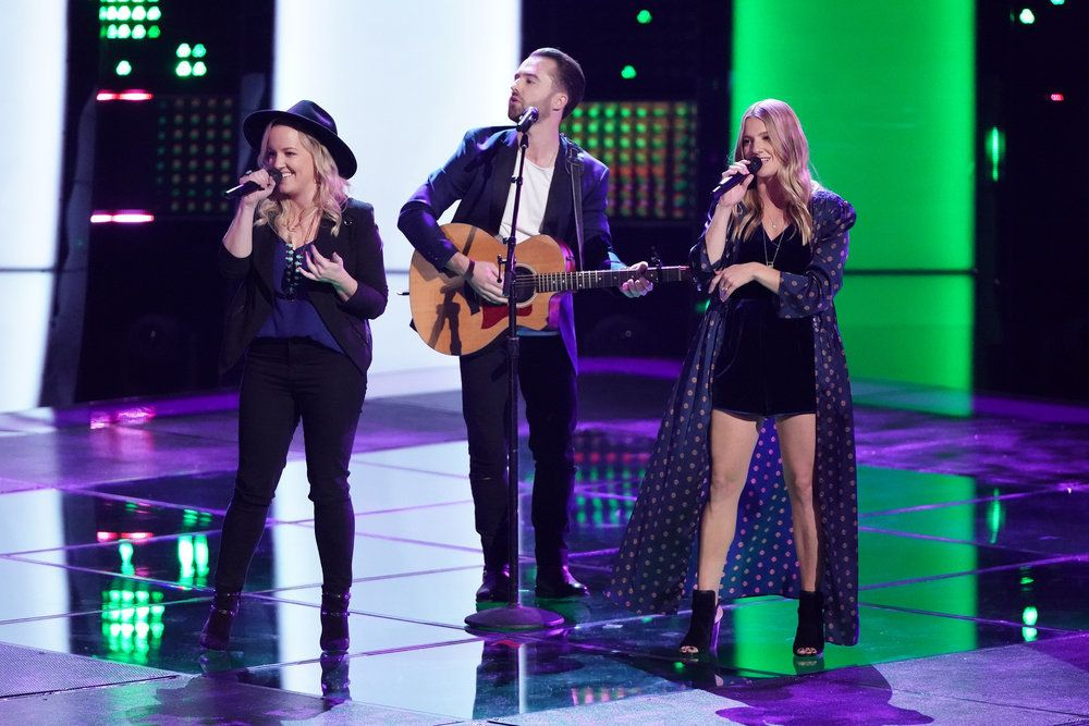 The Voice Reveals The Show S First Trio The Bundys Blind Audition