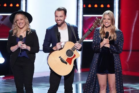 The Voice Reveals The Show S First Trio The Bundys Blind