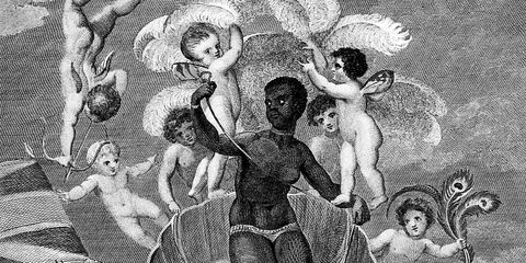 voyage of the sable venus from angola to the west indies, thomas stothard