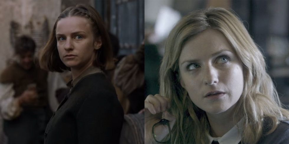 Faye Marsay After ultimately losing out to Arya in Season 6 as The Waif, Marsay went on to appear in an episode of Black Mirror , keeping her prestige TV rep in tact.