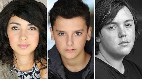 Los protagonistas del spin off de The Walking Dead
