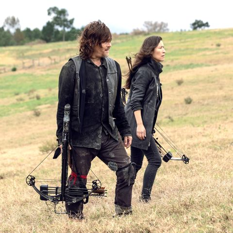 Daryl and Yumiko, The Walking Dead s9 episode 15