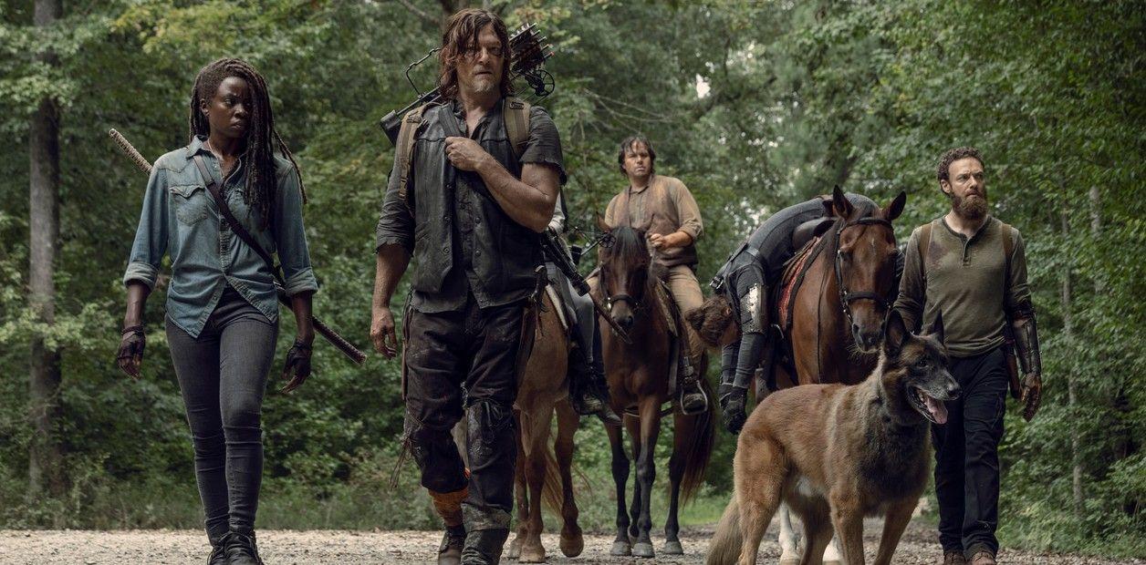 'The Walking Dead': primera imagen de la temporada 10 - Michonne