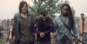 'The Walking Dead' la historia de amor que no cuaja entre los fans