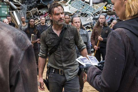 Jadis / Anne en The Walking Dead temporada 9