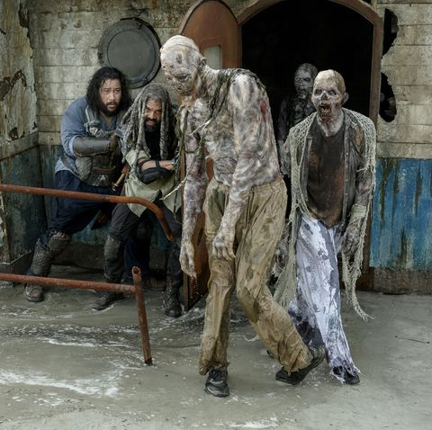 The Walking Dead, Season 10, Khary Payton as Ezekiel, Cooper Andrews as Jerry