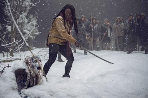 Walking Dead's Danai Gurira confirms she's quitting as Michonne