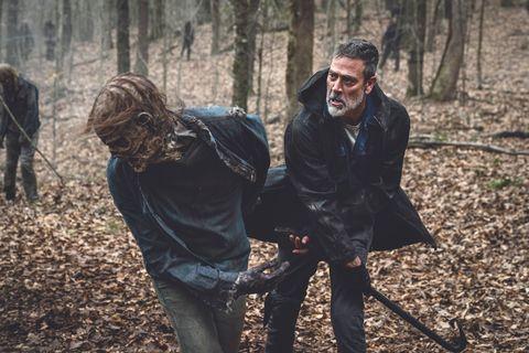 negan en the walking dead temporada 11capitulo 1