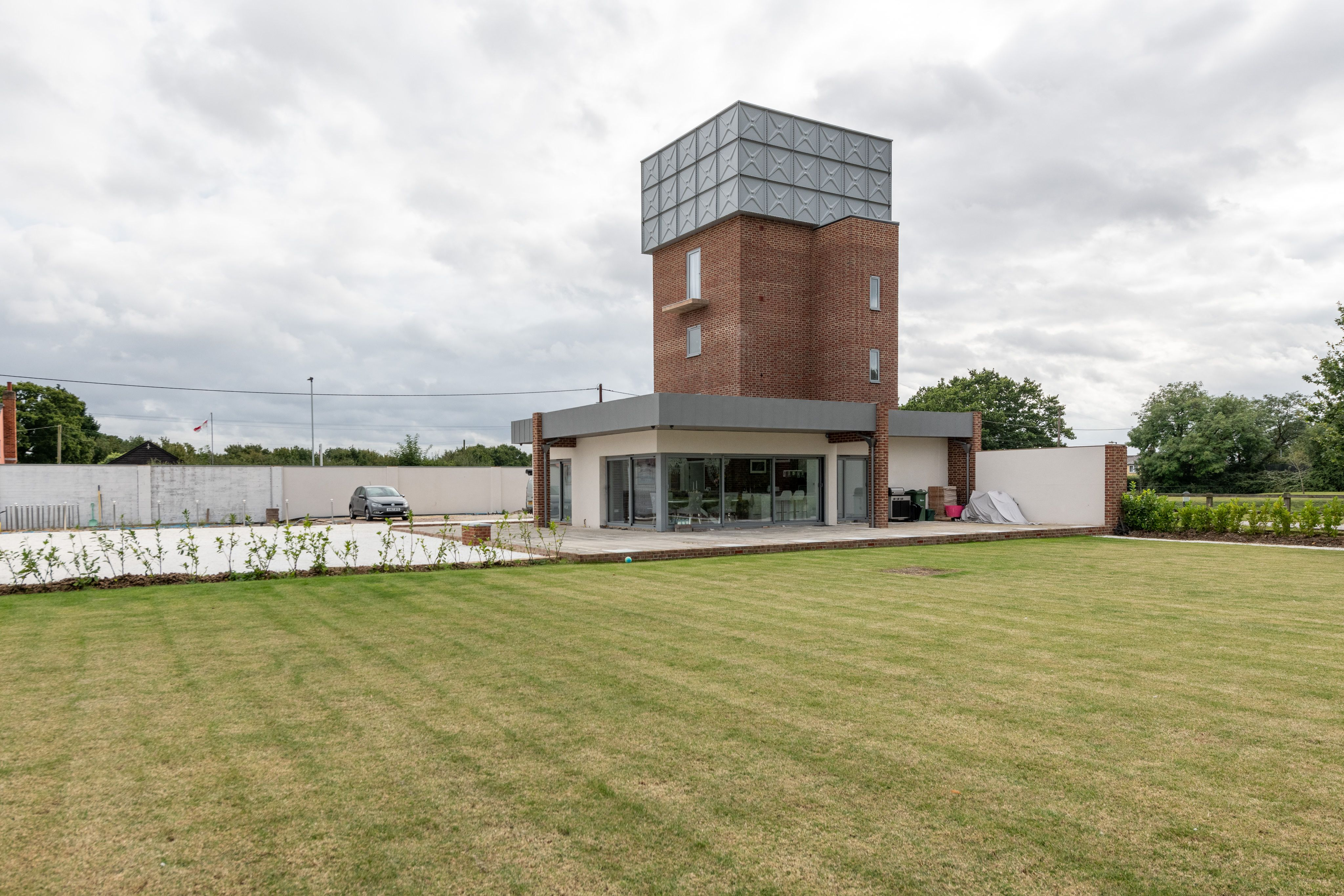 Converted water tower, once a WW2 prisoner of war camp, is for sale for £1.2 million in Essex