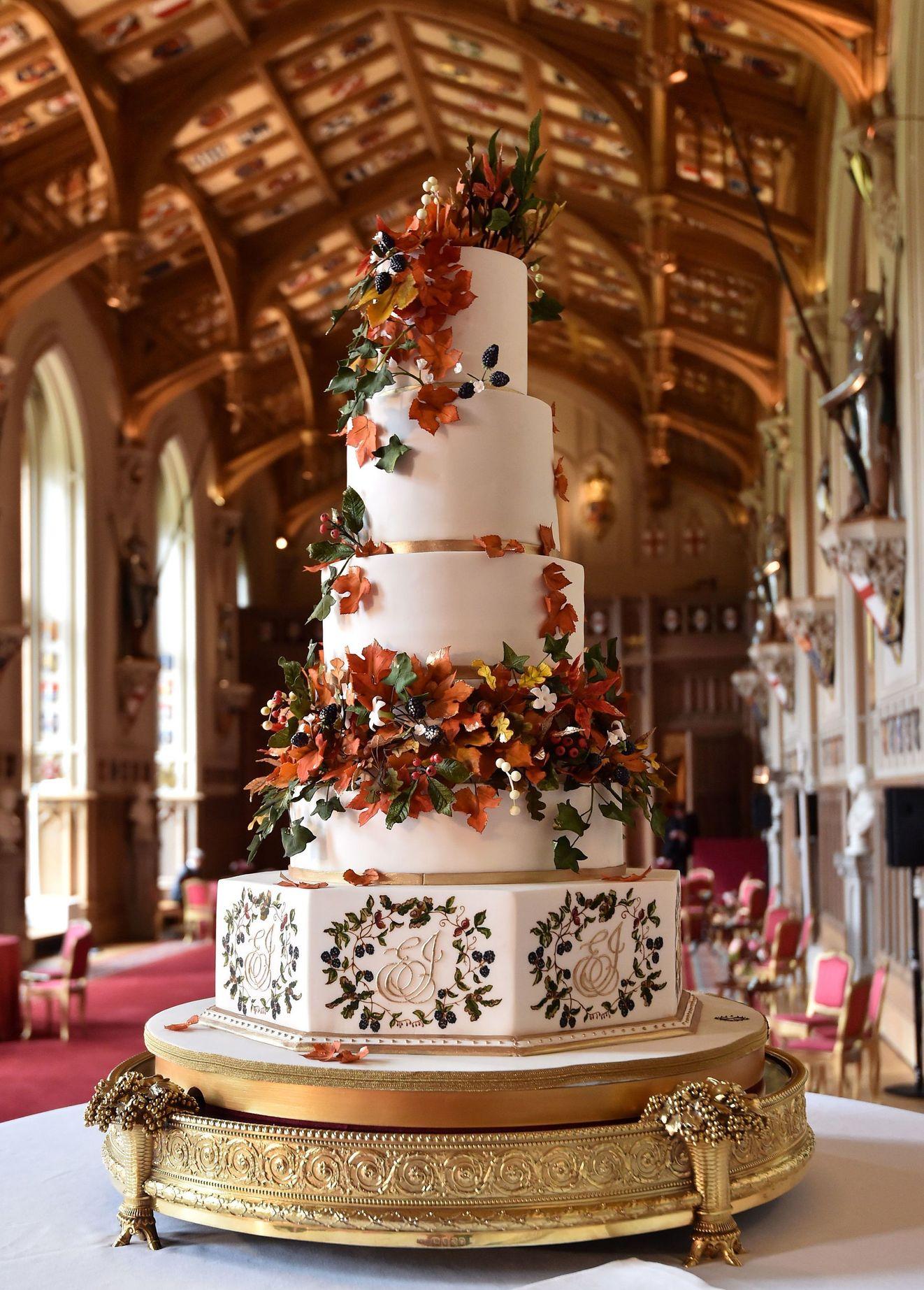 Eugenies wedding cake