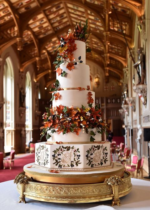Princess Eugenie Wedding Cake Details Amp Photos See